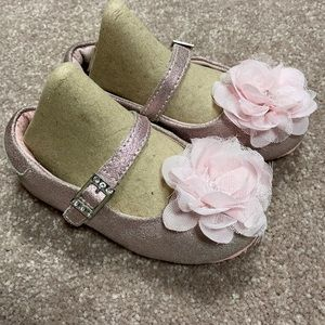 Pediped size 6/6.5 pink maryjanes